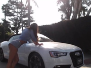 Notyourwyfe carwash in private premium video
